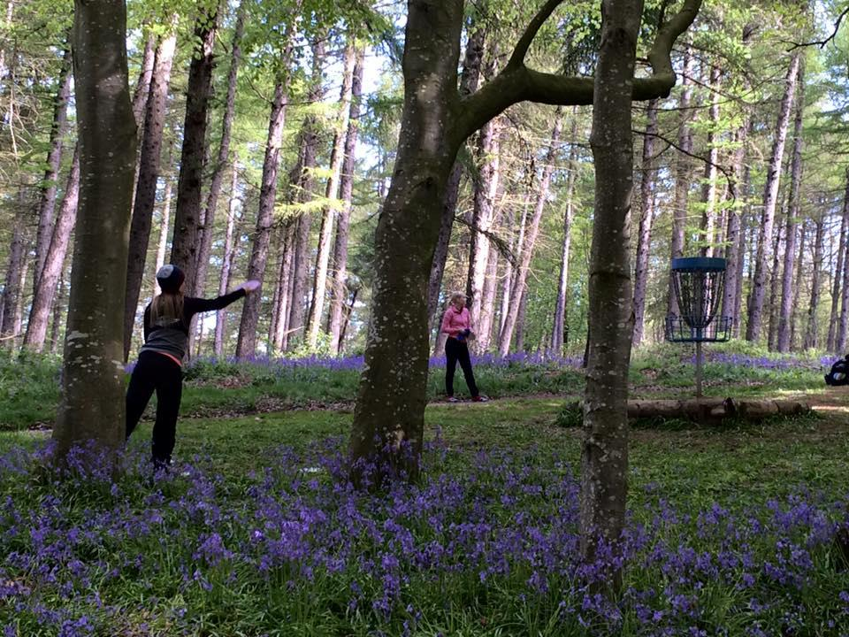 ladies at the bluebell woods