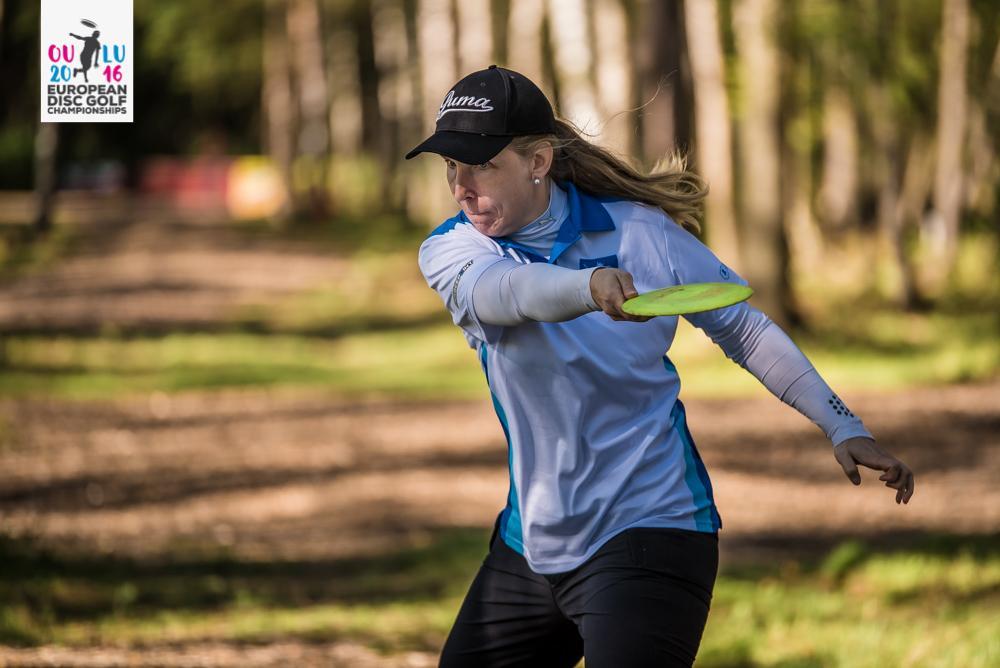 Loukkaantumisista kärsinyt Nina Kiminki on löytänyt pelituntuman. Kuva: Eino Ansio / Innova Europe