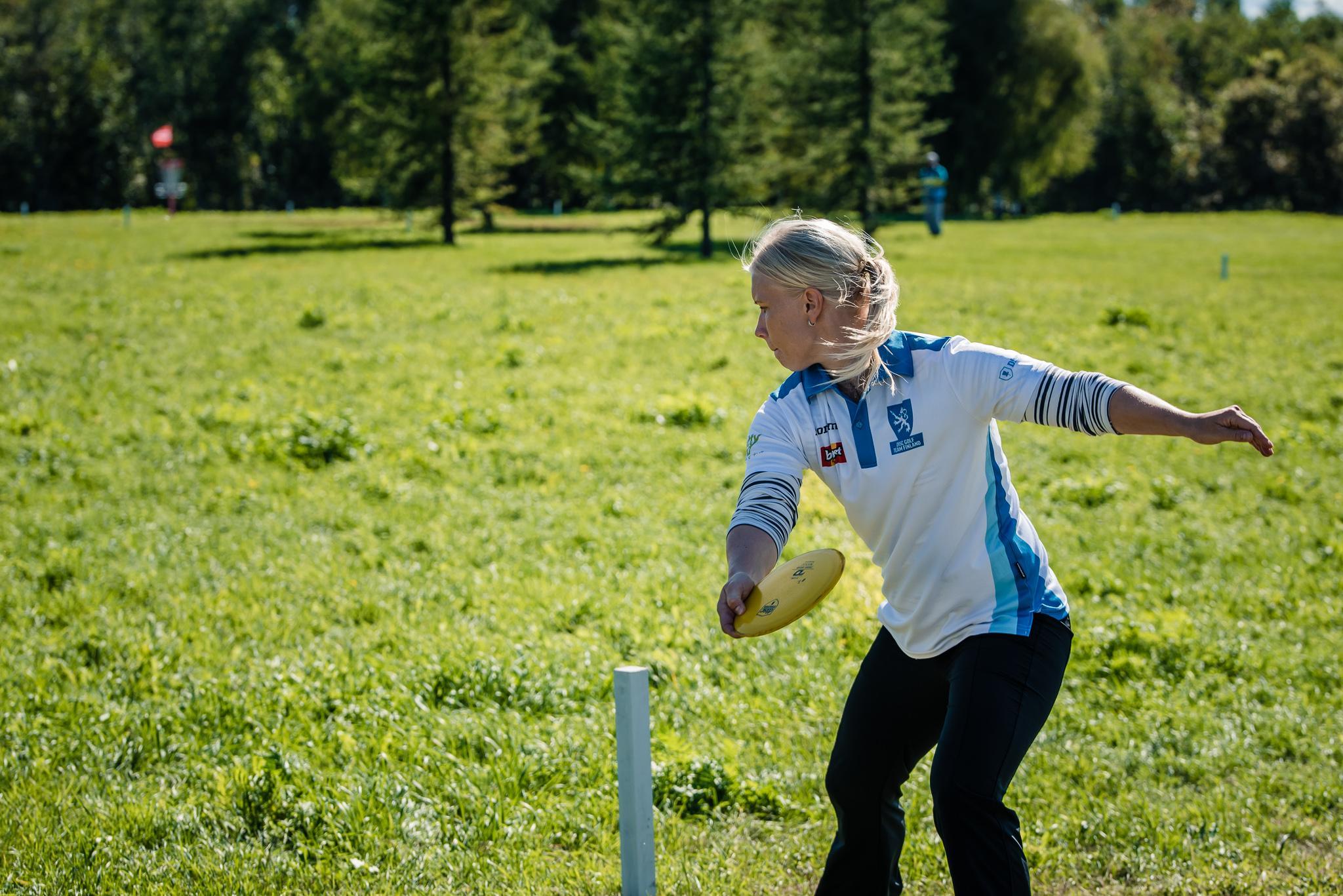 Hallitseva Euroopan mestari Eskelinen antoi myrskyvaroituksen. Kuva: Eino Ansio / Innova Europe