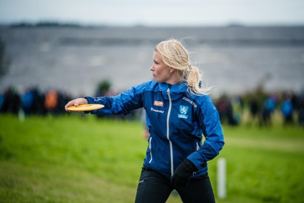Jenni Eskelinen. Kuva: Eino Ansio / EM2016