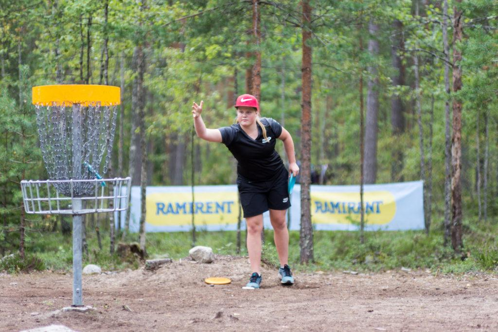 Vuonna 2017 Salonen voitti Suomen mestaruuden Hyvinkään SM-kilpailuissa. Kuva: SFL / Joni Tuhkanen
