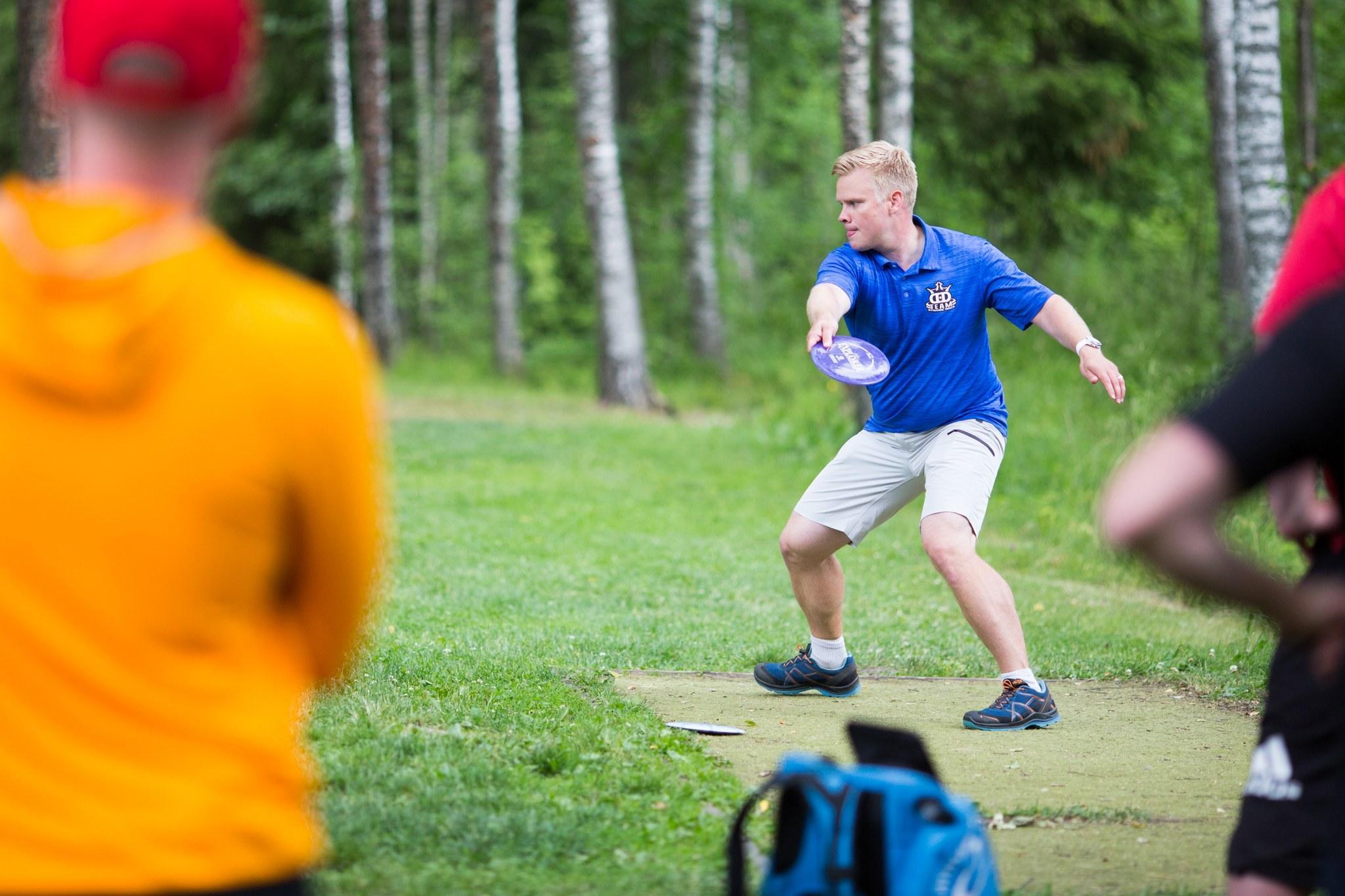 Janne Hirsimäki voitti MP40-luokan Suomen mestaruuden. Kuva: SFL / Knuutti Lehtinen